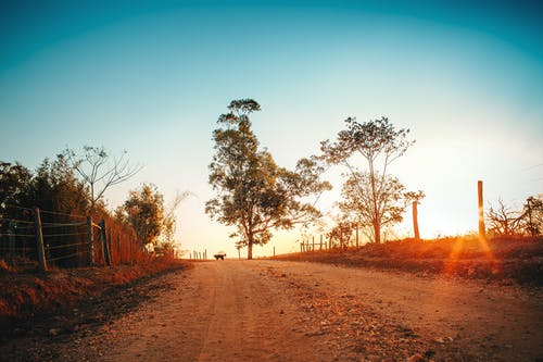 Photo Of Dirt Road During Dawn