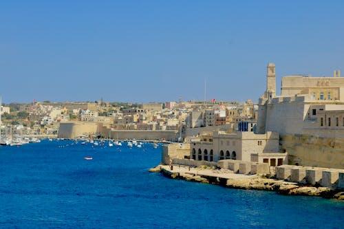 Free stock photo of city, fortress, heat, malta