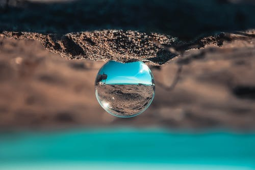 Foto stok gratis biru, kaca, matahari, pantai