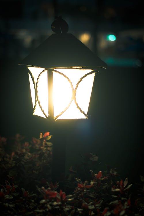 Foto profissional grátis de poste de iluminação