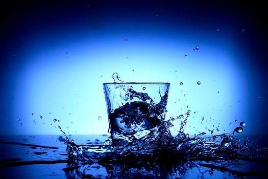 Free stock photo of art, water, abstract, glass