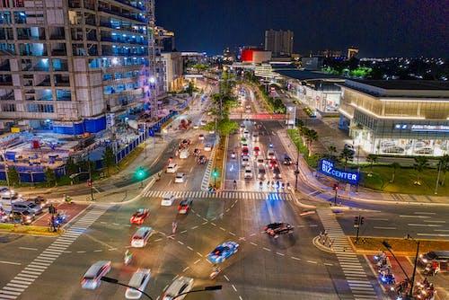 Бесплатное стоковое фото с автомобили, город, городской, дорога