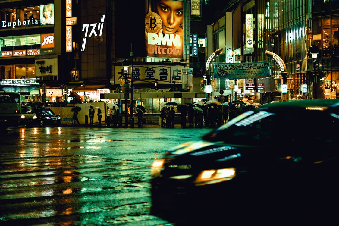 Black Vehicle during Nighttime Photo