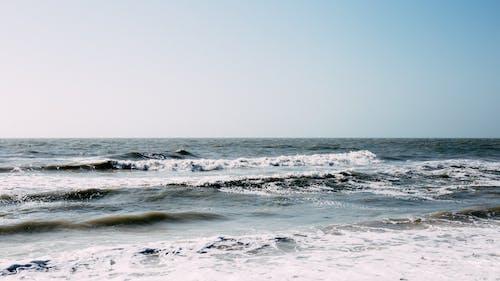 Photos gratuites de bord de mer, ciel, eau, faire signe