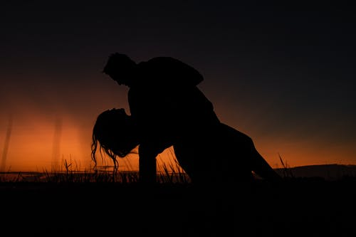 Free stock photo of couple, shadows, Silhouette photography