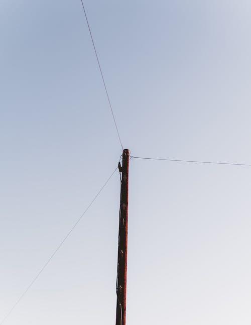 Безкоштовне стокове фото на тему «джерело живлення, електричний полюс, електролінії, жаб'яча перспектива»