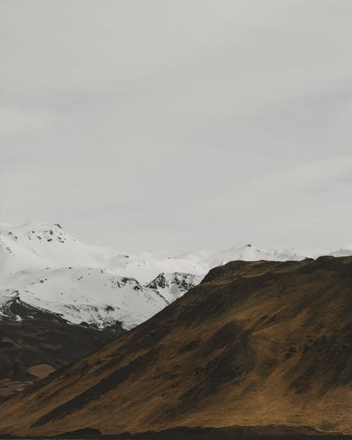 Scenic View Of Snow-Capped Mountains