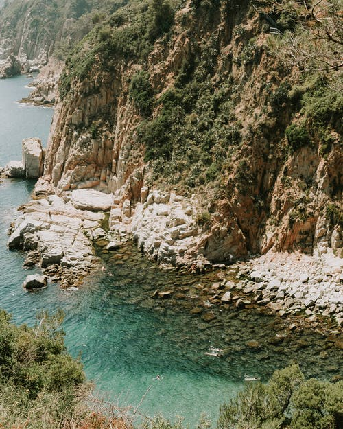Бесплатное стоковое фото с гора, живописный, море, морской пейзаж
