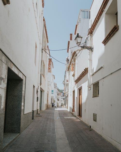 거리, 건물, 건축, 골목의 무료 스톡 사진