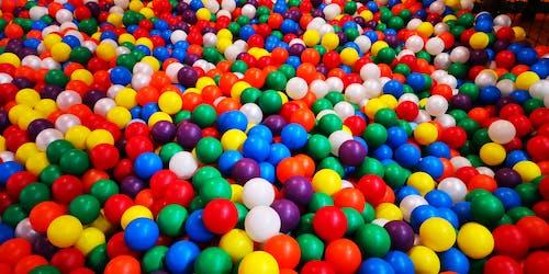 Free stock photo of amusement park, balls, children toys, playing balls
