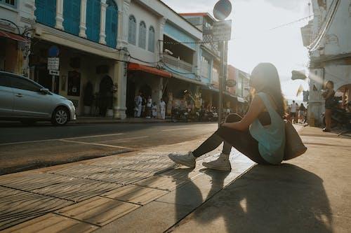 会話する, 女性, 座って, 座っているの無料の写真素材