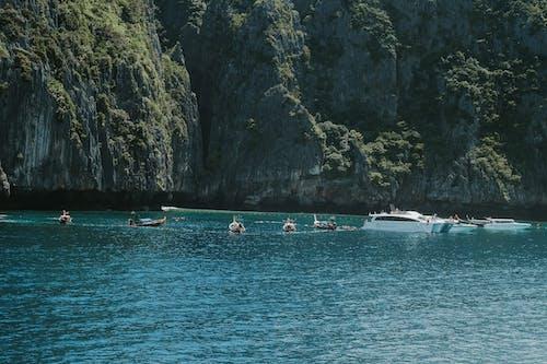 ボート, 島, 海, 青い海の無料の写真素材