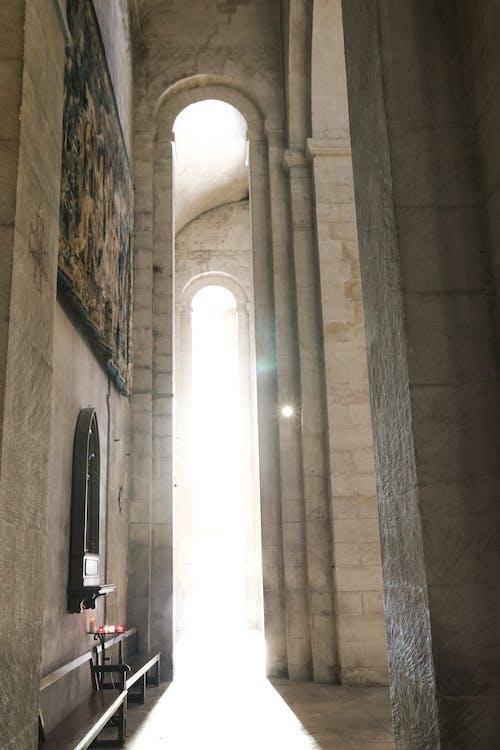 Ingyenes stockfotó a fény ellen, alámerülés, belső, csillaghatás témában