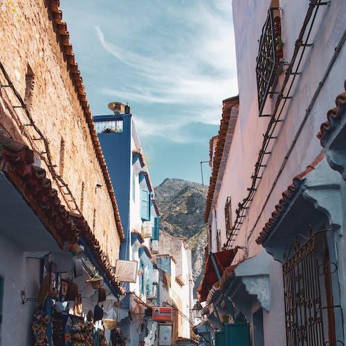 Gratis arkivbilde med arkitektur, blå, by, bygninger