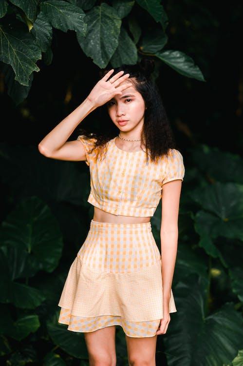 Photo of Woman Wearing Mini Dress