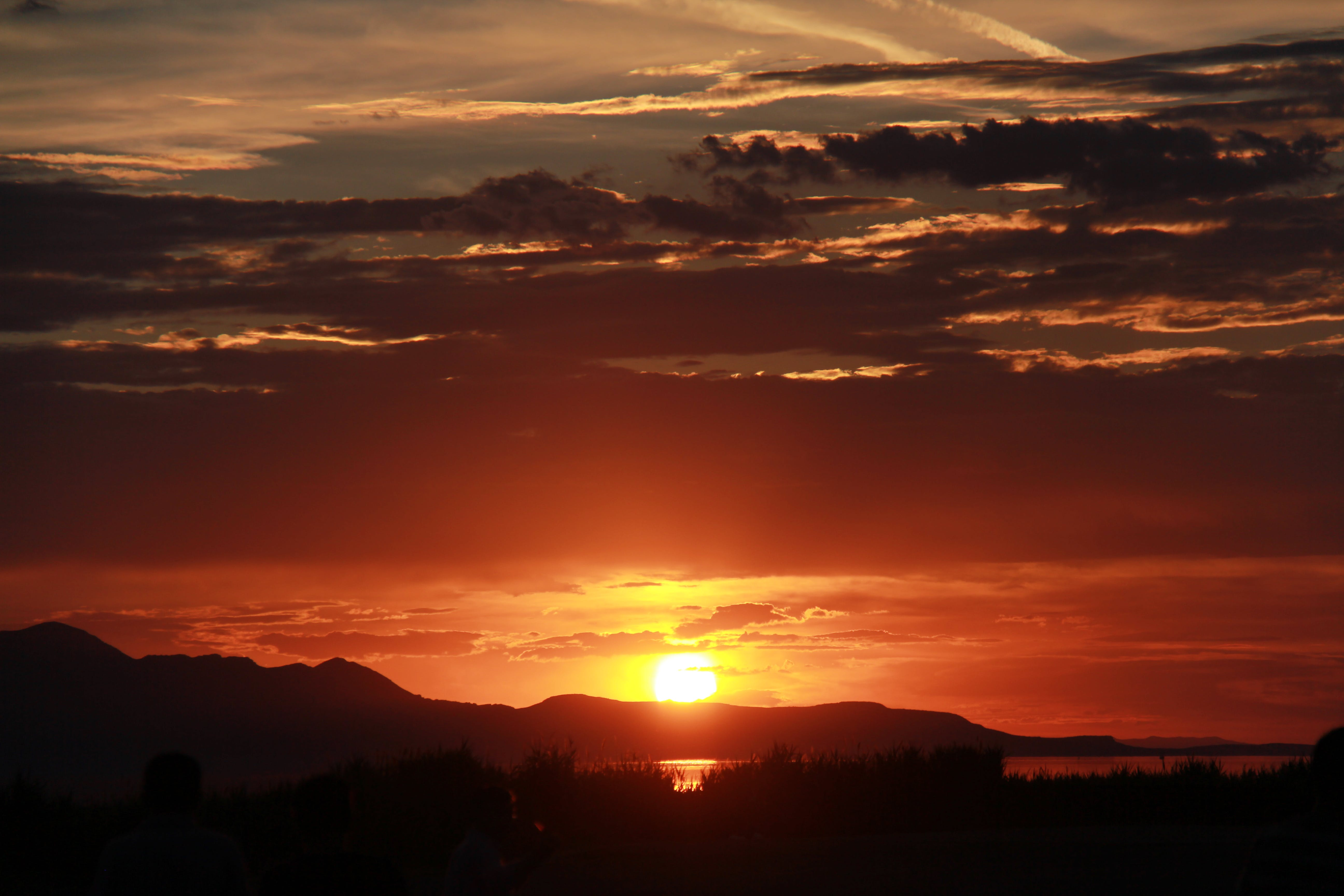 Free stock photo of orange, sky, sunset