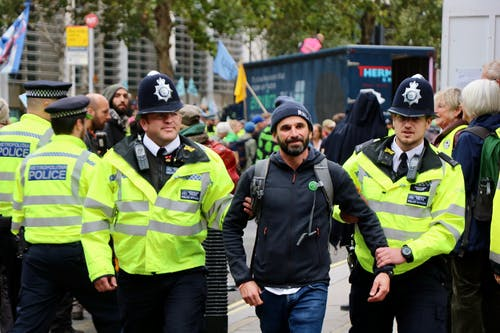Free stock photo of extinction rebellion, london, police