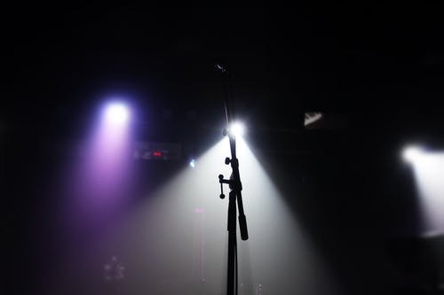 Foto d'estoc gratuïta de micròfon