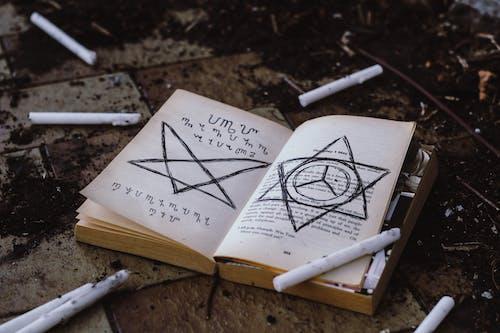 Základová fotografie zdarma na téma čarodějnické řemeslo, děsivý, halloween, kniha