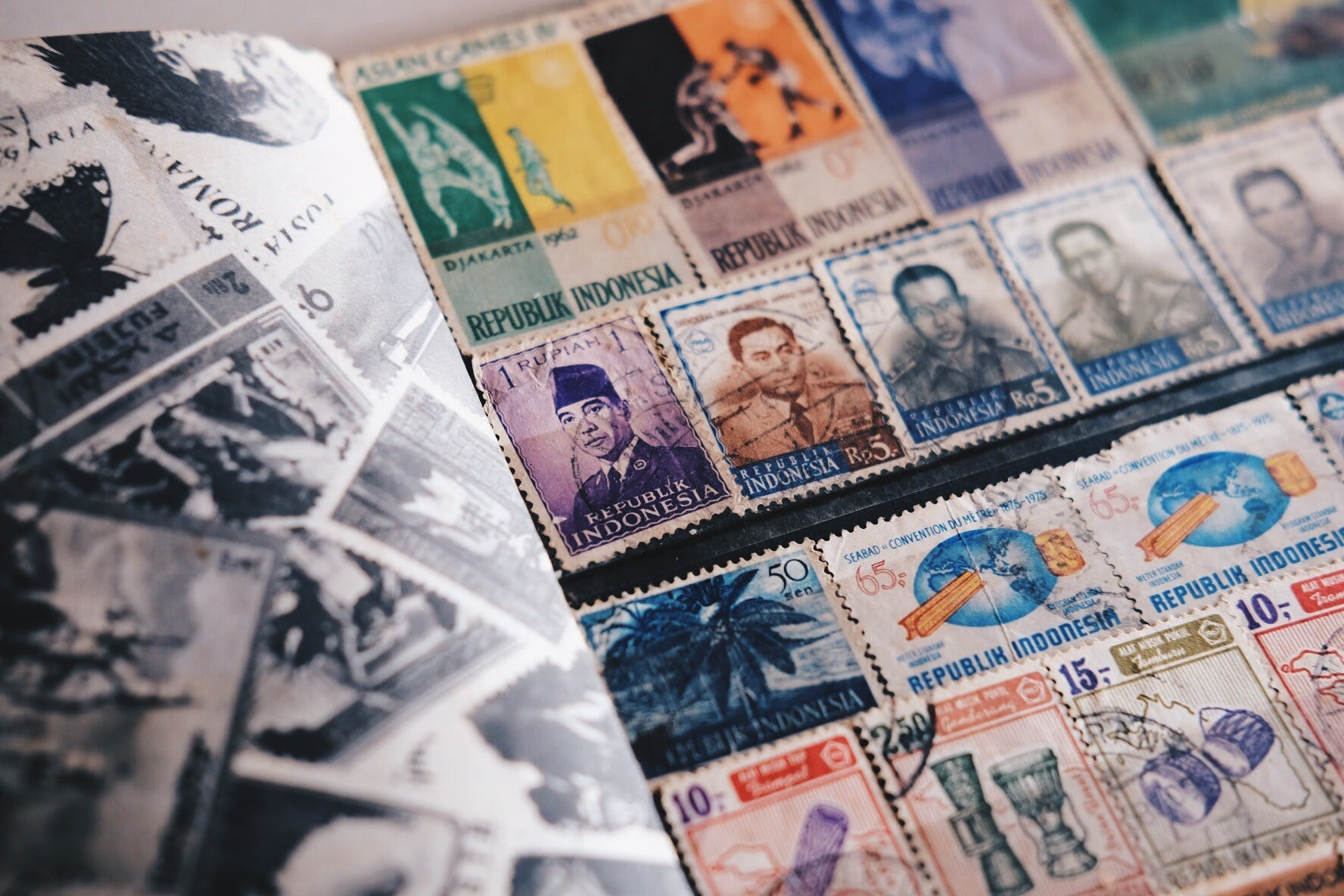 Free stock photo of antiques, indonesia, philatelist, Philately