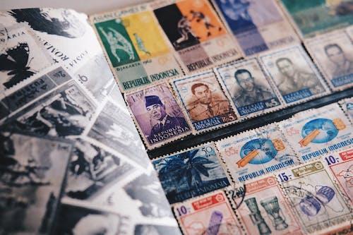 Základová fotografie zdarma na téma filatelie, filatelista, indonésie, poštovní známky