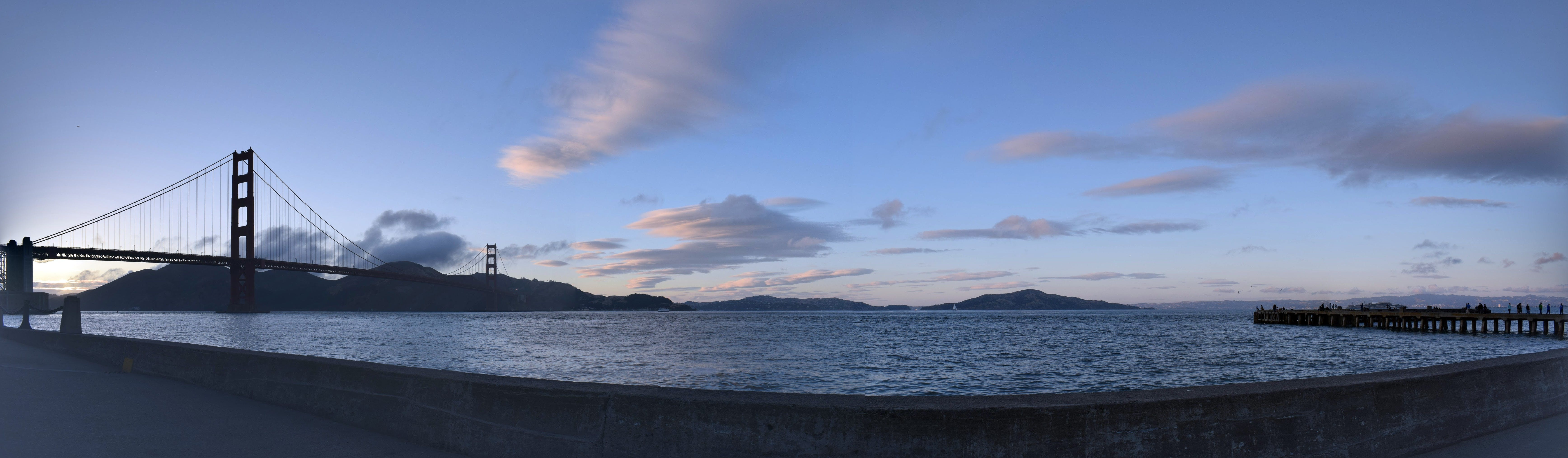 Free stock photo of background, blue skies, blue sky, bridge