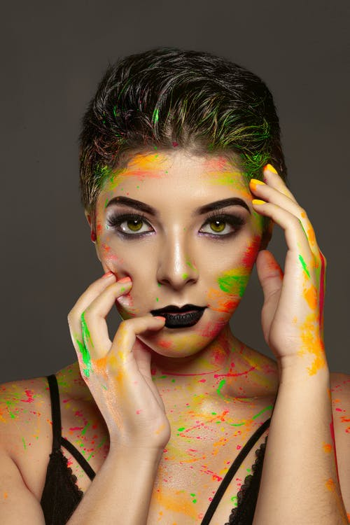 Free stock photo of beauty, body art, body painting