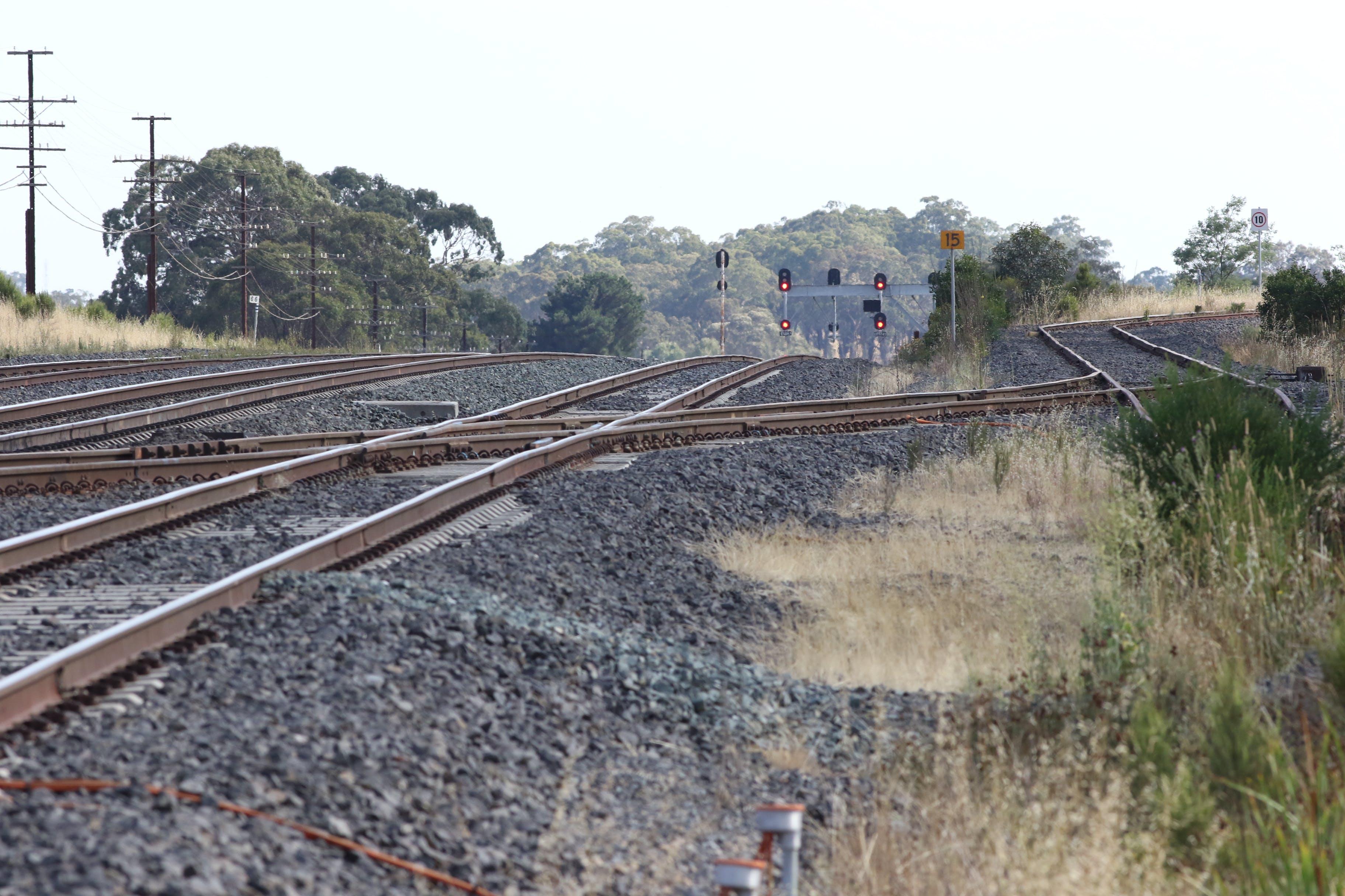 Free stock photo of railway line
