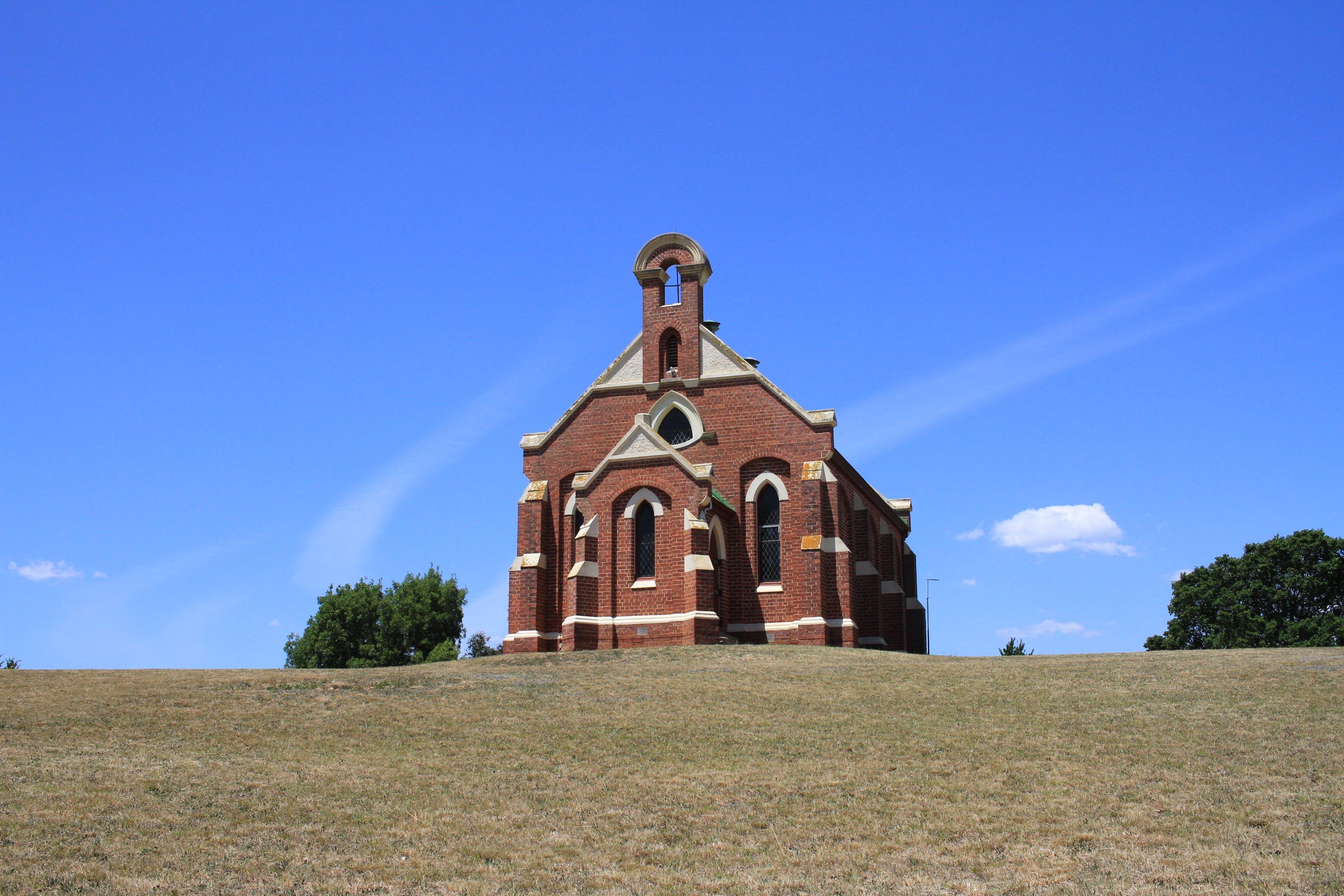 Free stock photo of church, sky