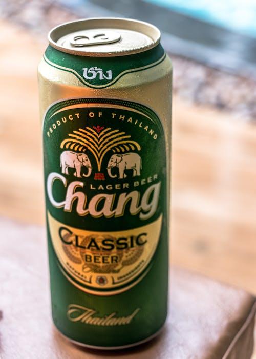 Gratis arkivbilde med chang, øl, øl kan, reisemål