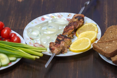 고기, 레몬, 튀긴의 무료 스톡 사진