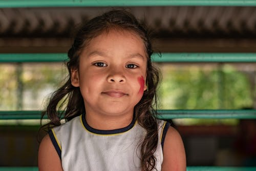 Foto stok gratis anak, anak-anak, fotografi potret, muka
