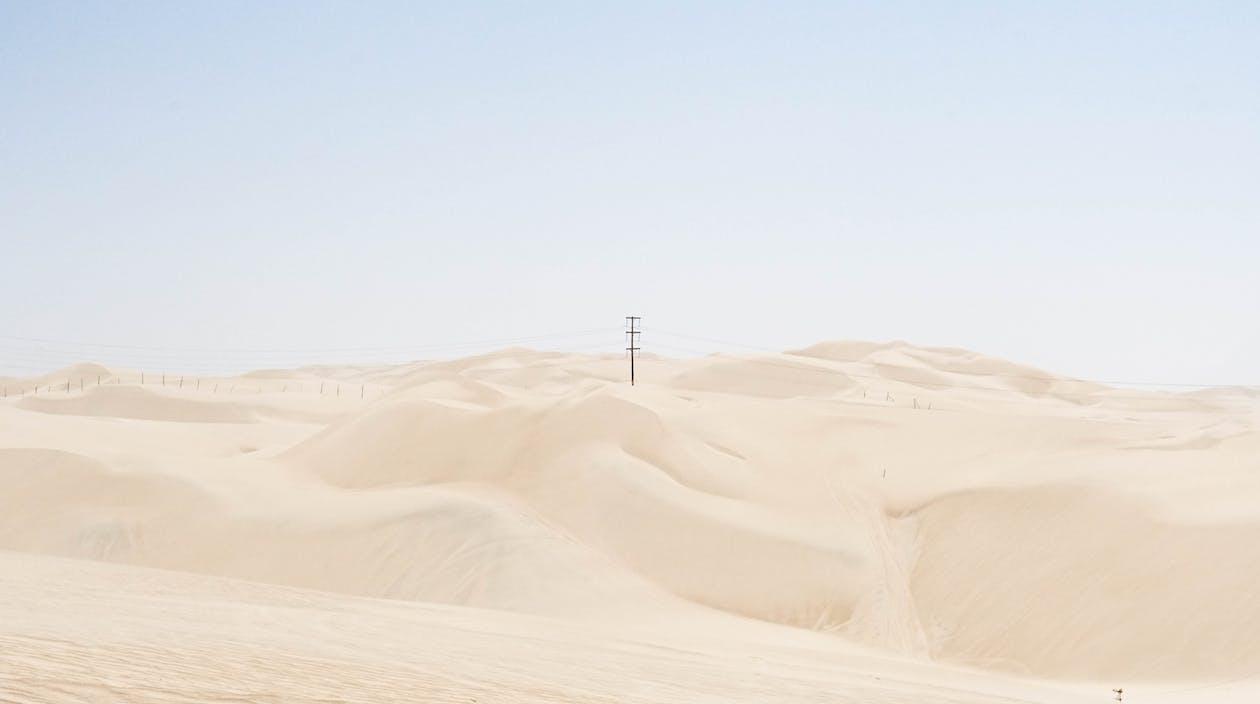 aavikko, autiomaa, dyyni