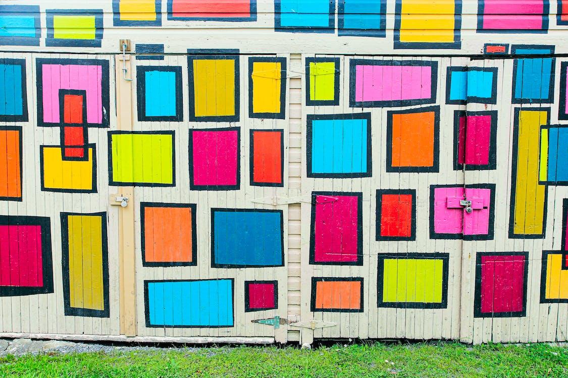 Multicolored Door
