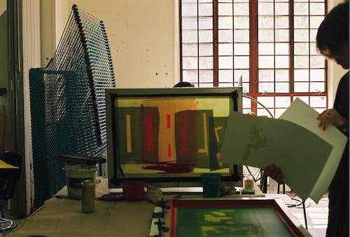 スクリーン印刷の無料の写真素材