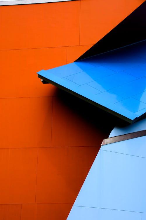 カラフル, ミニマリズム, 幾何学的な, 建築の無料の写真素材