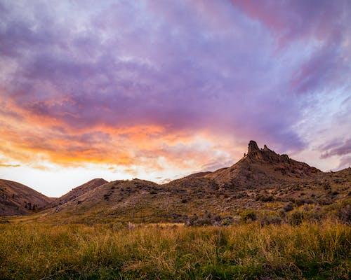 Бесплатное стоковое фото с закат, пейзаж