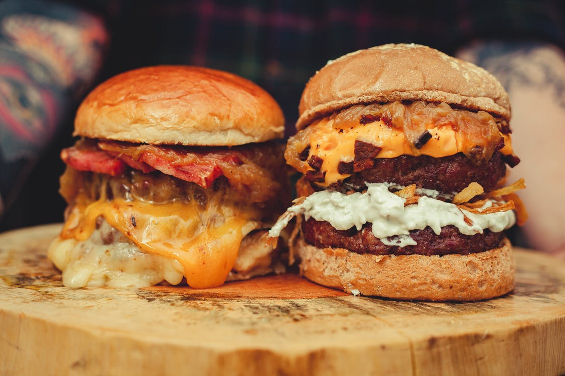 Mouth Watering Hamburgers