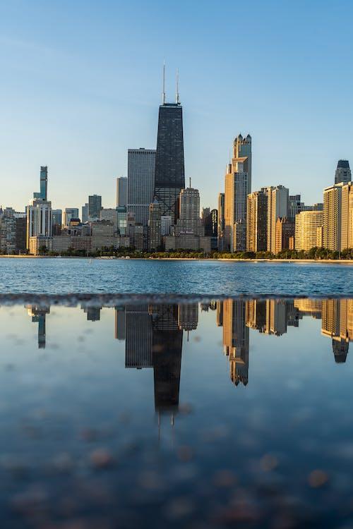 Photos gratuites de activités, bâtiments, bord de l'eau, chicago