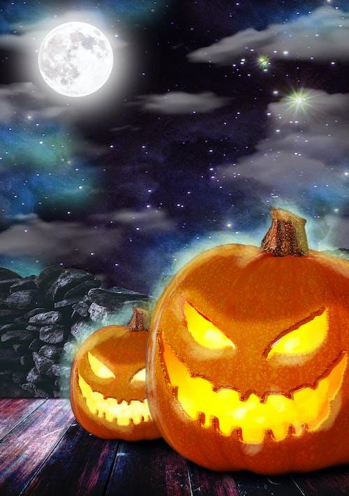Imagine de stoc gratuită din dovleac, dovleac de Halloween, Halloween
