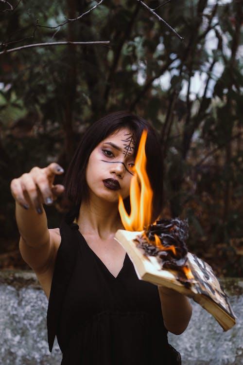 개념, 검정 드레스, 레저, 마녀의 무료 스톡 사진