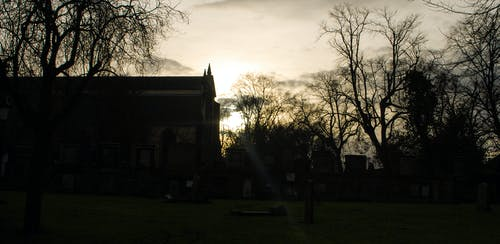 Free stock photo of cemetery, church, edinburgh