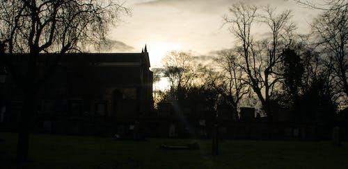 Gratis arkivbilde med edinburgh, gotisk, kirke, kirkegård