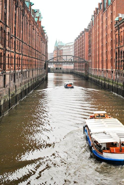 Gratis arkivbilde med båt, bro, fartøy, hamburg