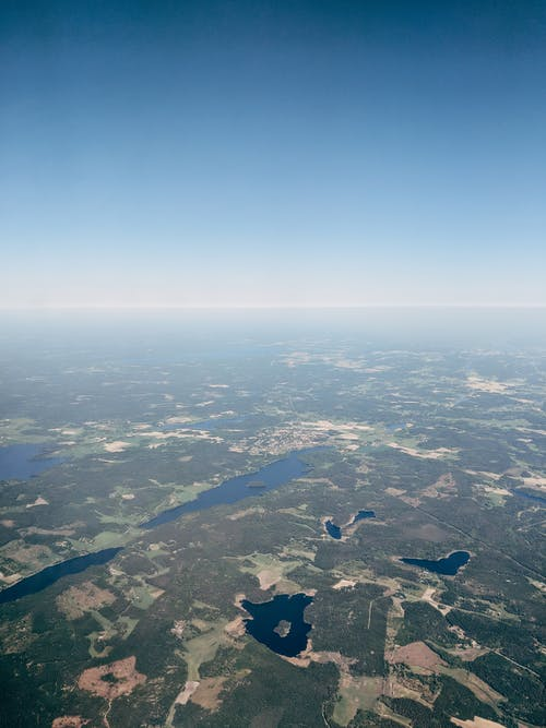 Δωρεάν στοκ φωτογραφιών με αεροφωτογράφιση, γαλάζιος ουρανός, Γερμανία, εναέριος