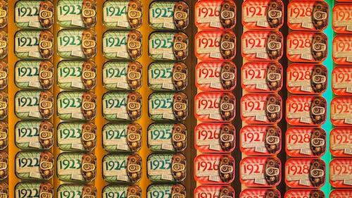 Gratis arkivbilde med bokser, butikk, farger