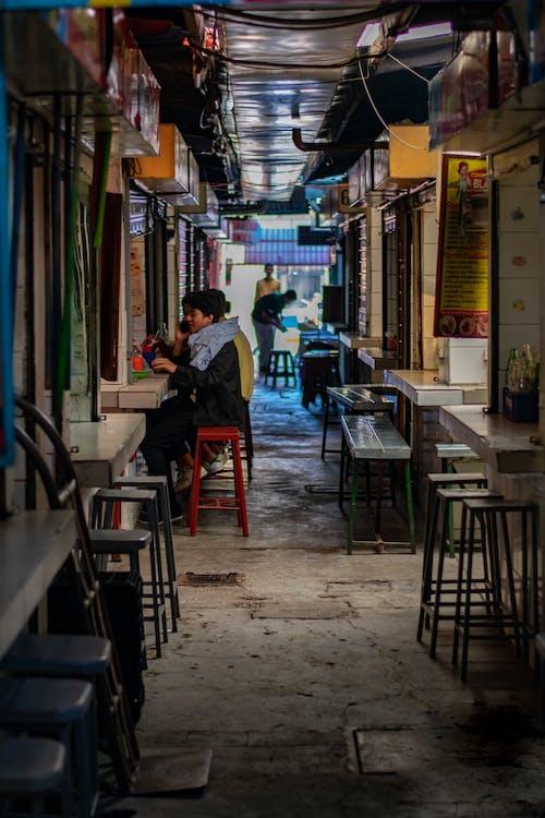 Foto stok gratis bayangan, daerah perkotaan, fotografi perkotaan, komersial