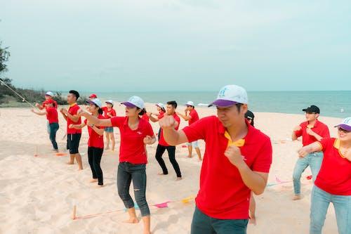 Безкоштовне стокове фото на тему «в'єттейліни, в'єтнамський, командотворення, пляж»