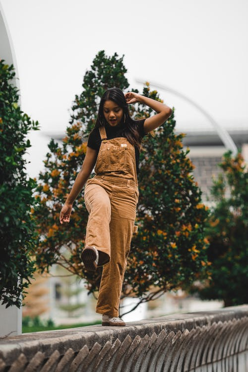 Women's Brown Jumpsuit