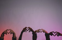 hands, love, heart